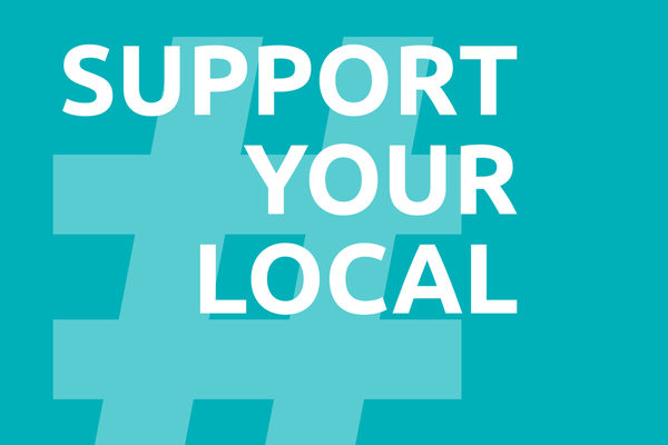 # support your local