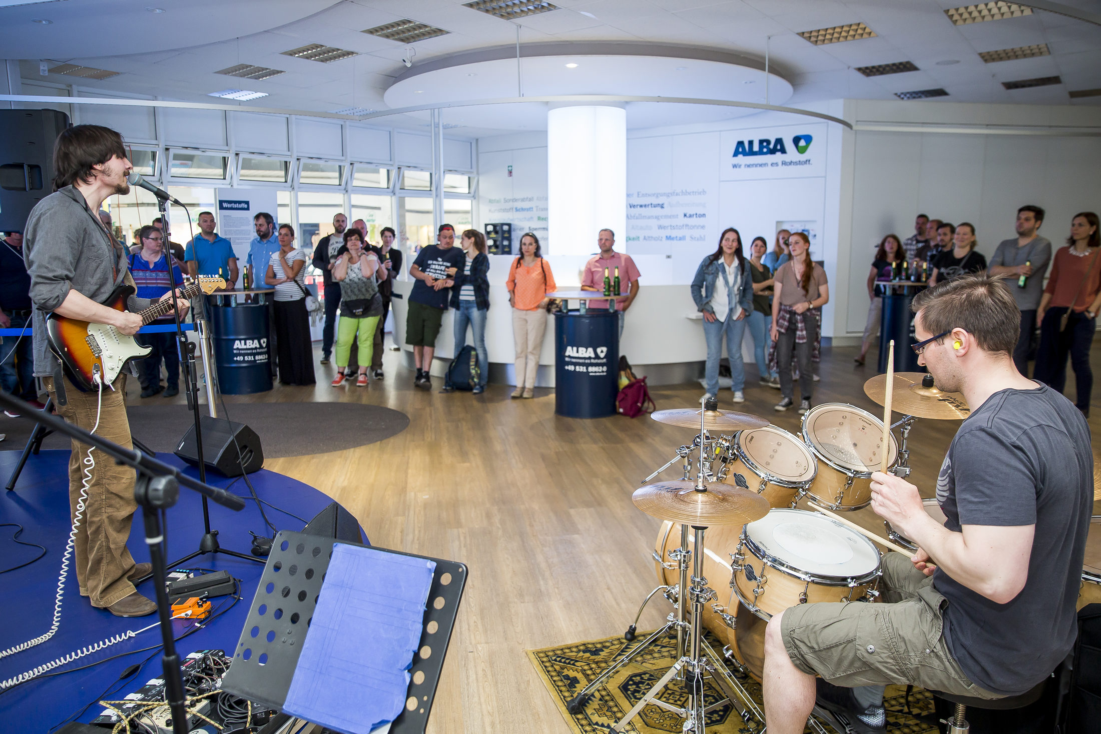 Rock im ALBA Kundenzentrum
