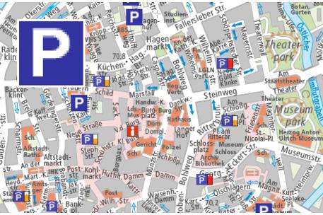 Hamburg Karte Sehenswurdigkeiten.Stadtplan Braunschweig Stadt Braunschweig