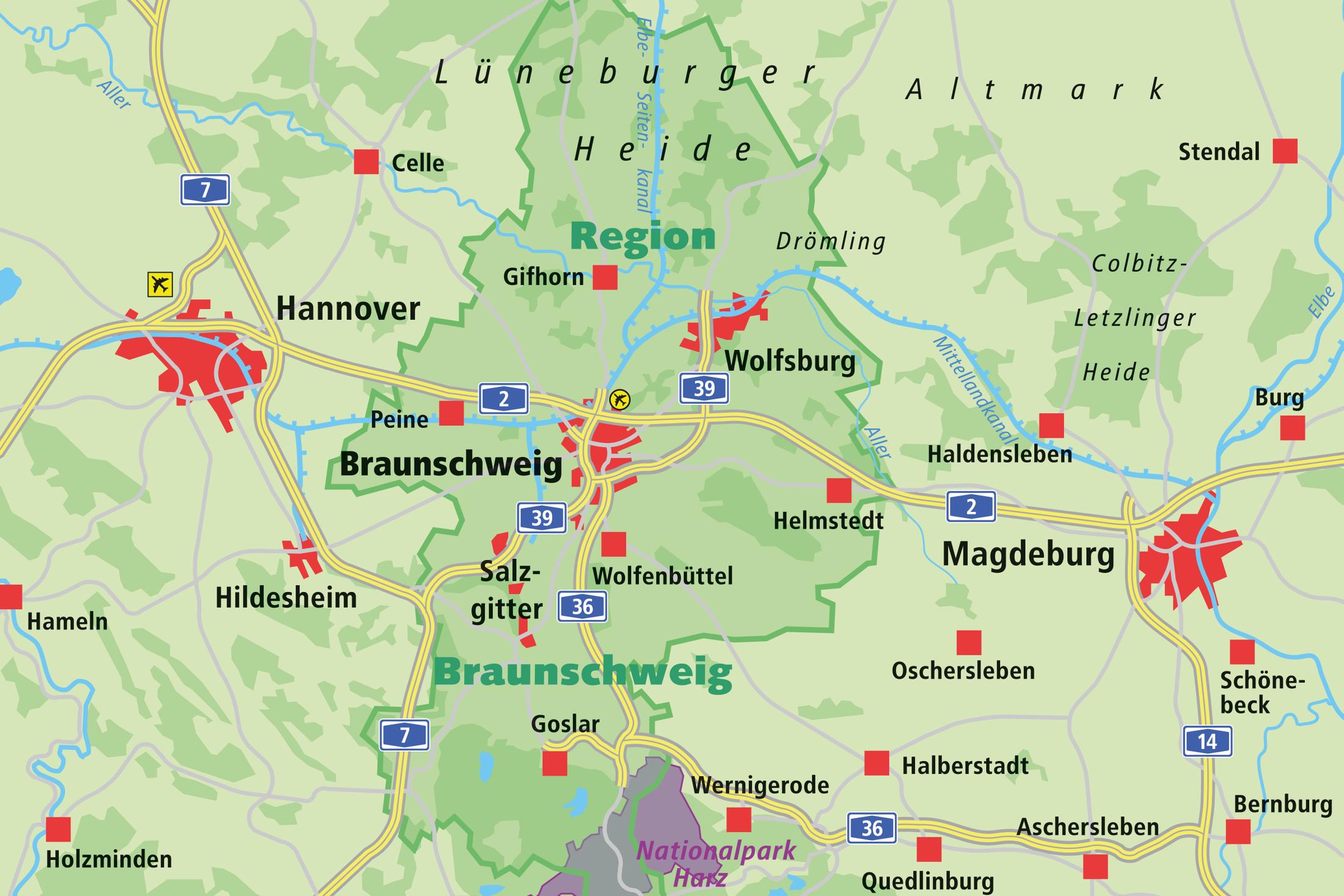 Übersichtskarten | Stadt Braunschweig