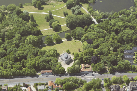 Schloss Richmond, Bildflugdatum: Juni 2015
