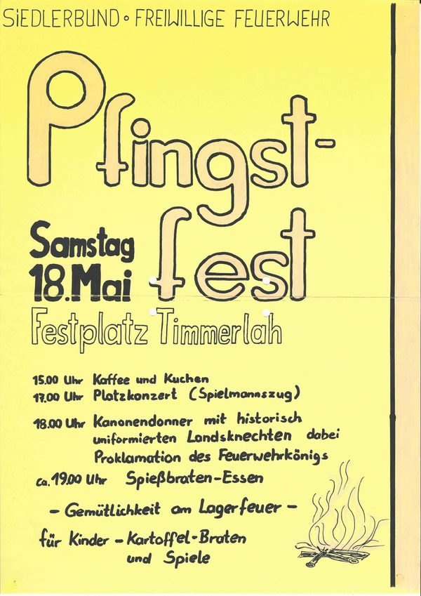 Pfingstfest am 18.Mai