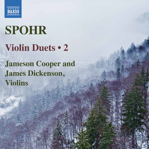 CD Cover Violin Duets Vol.2