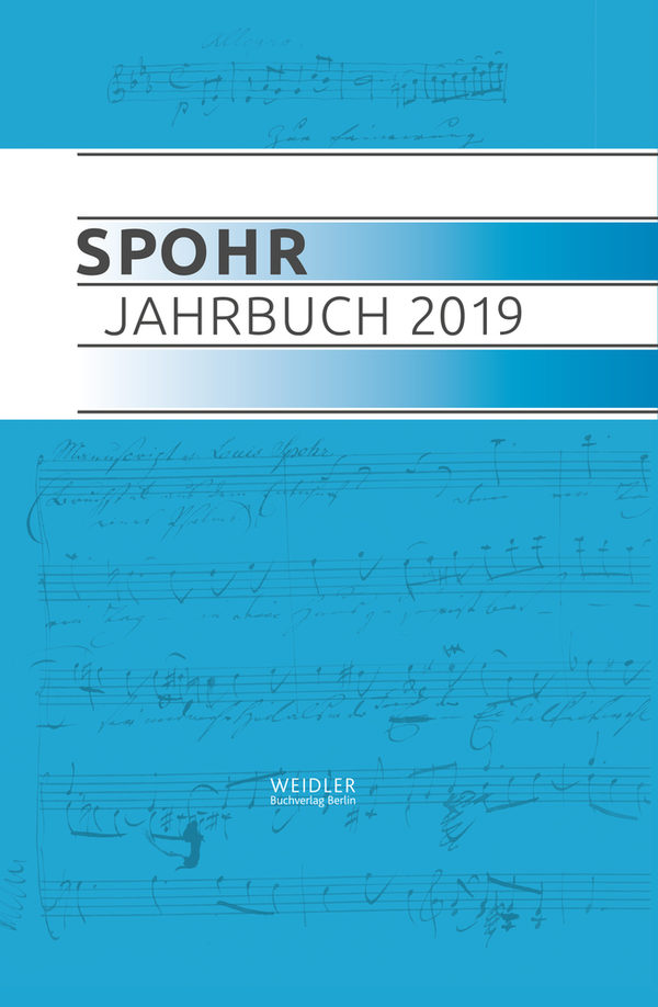 Cover Spohr Jahrbuch 2019