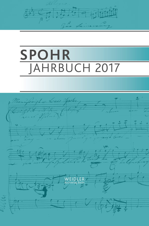 Cover Spohr Jahrbuch 2017