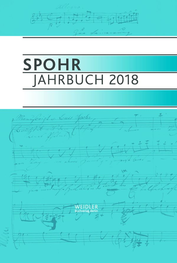Cover Spohr Jahrbuch 2018