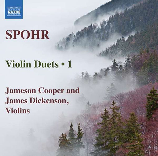 CD Cover Spohr Violin Duets